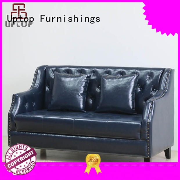 Uptop Furnishings mordern banquette booth from manufacturer for bank