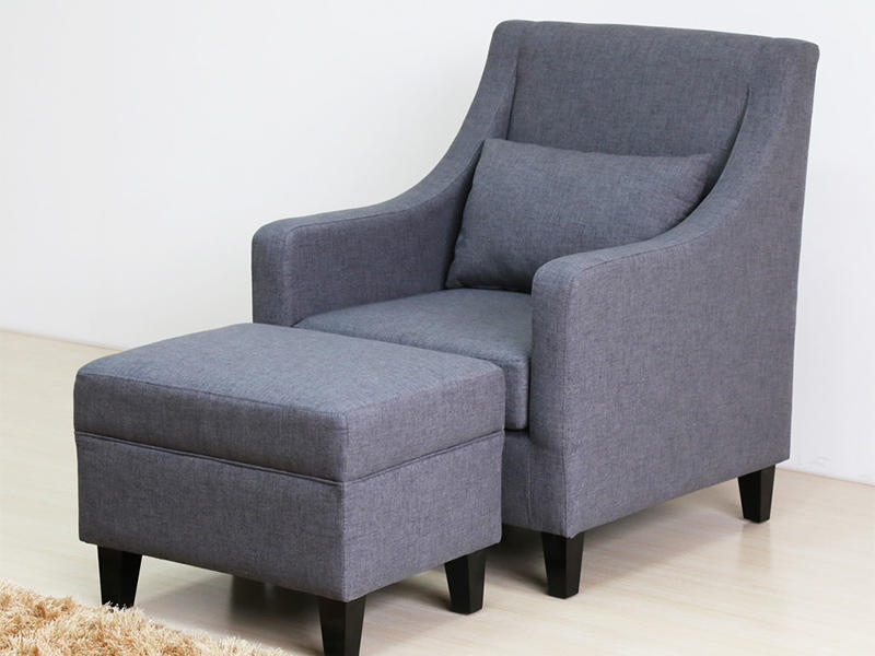 Uptop Furnishings-Classic And Traditional Linen Fabric Accent Living Room Chairs-2