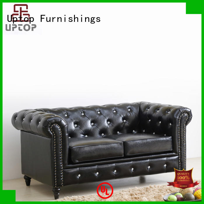 chesterfield leather sofa chair classic for hotel Uptop Furnishings