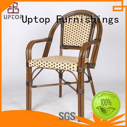 Uptop Furnishings dining metal chair free quote for hotel