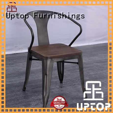 Uptop Furnishings reasonable steel dining chairs indoor for cafe