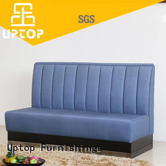 mid century modern sofa upholstered for bar Uptop Furnishings
