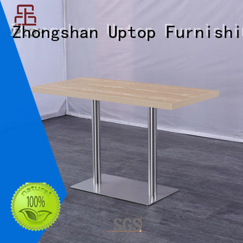 gold round contemporary dining table Uptop Furnishings Brand