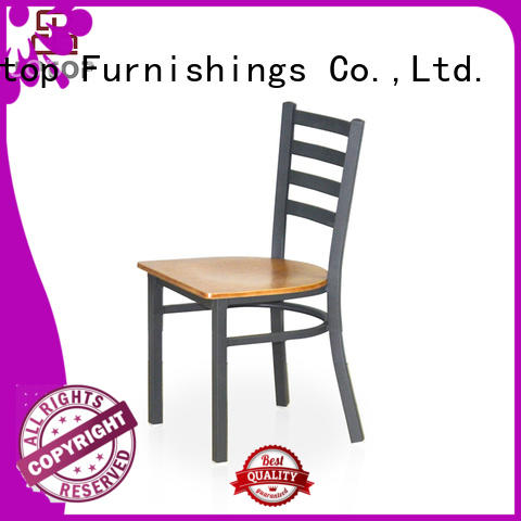 red stainless tolix french metal restaurant chairs Uptop Furnishings Brand