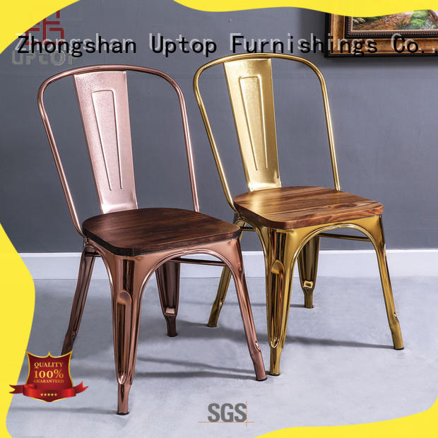 Uptop Furnishings outdoor metal chair bulk production for office space