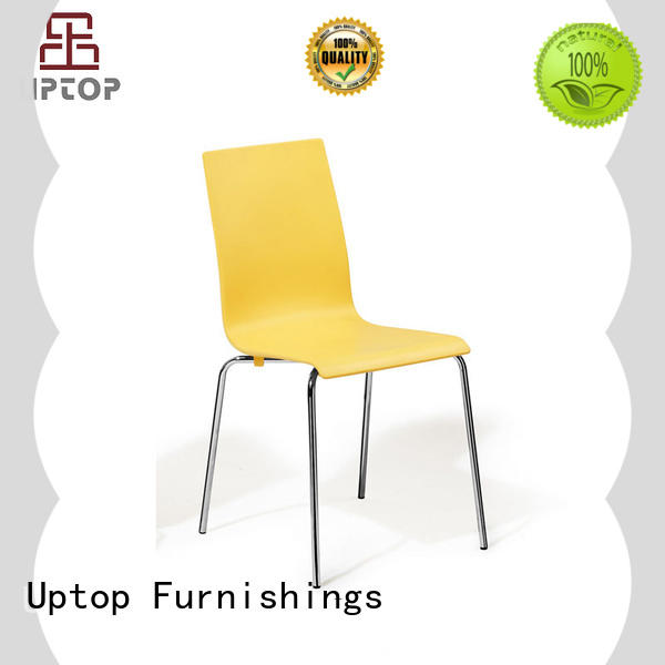 Uptop Furnishings high teach stackable outdoor plastic chairs for restaurant